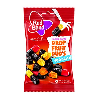 Red Band Dropfruit Duo's 24 x 100 gr.